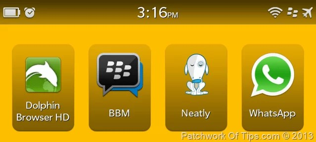 BlackBerry Z10 Missing Features