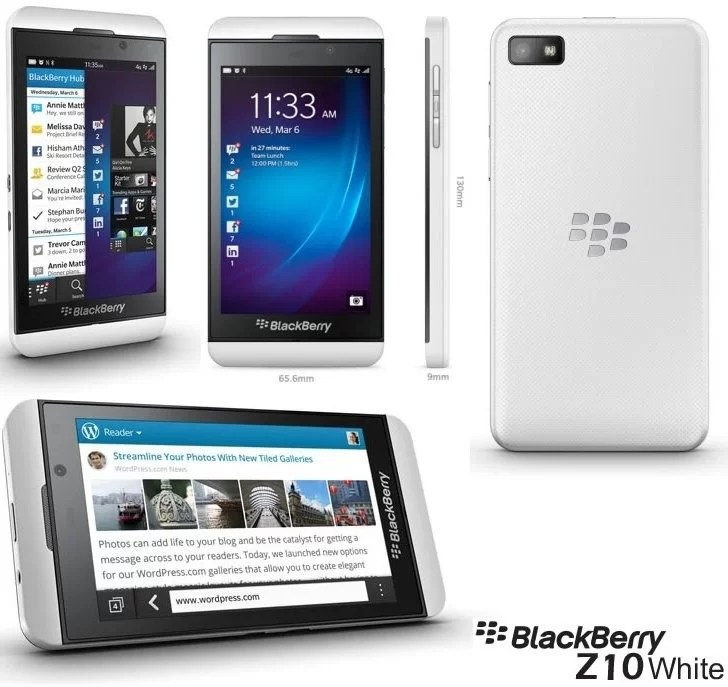 BlackBerry Z10 White Review