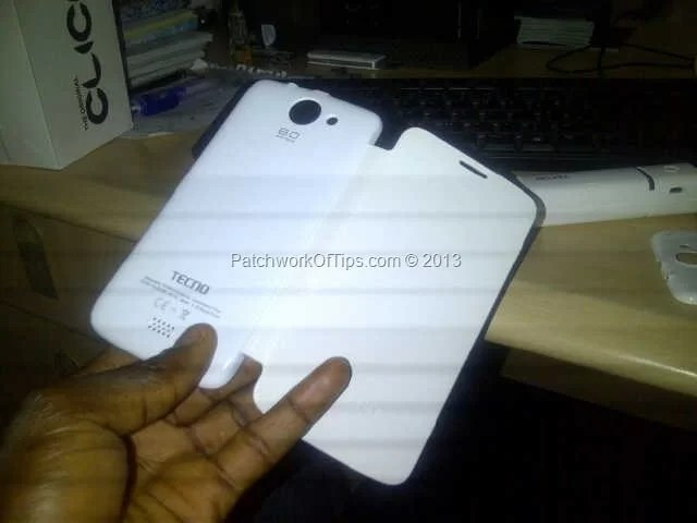 Tecno Phantom A White Flip Case