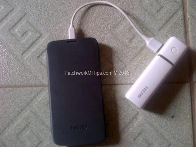 Tecno F7 with th