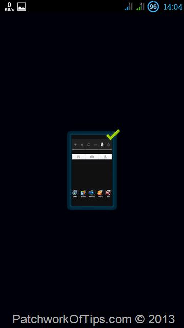 Nova Launcher Home Screen