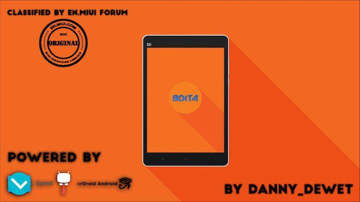 Download BDITA ROM for Xiaomi MiPad