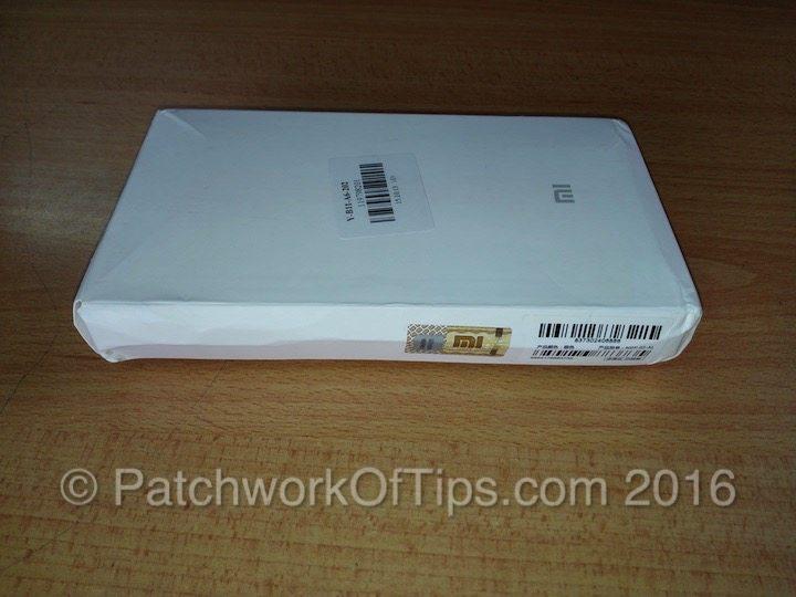 Xiaomi 16000mAh Powerbank Retail Package