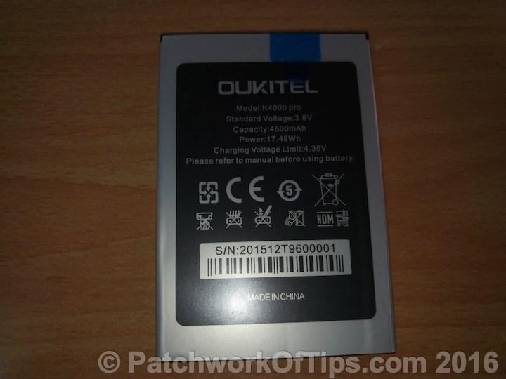 Oukitel K4000 Pro Battery 2