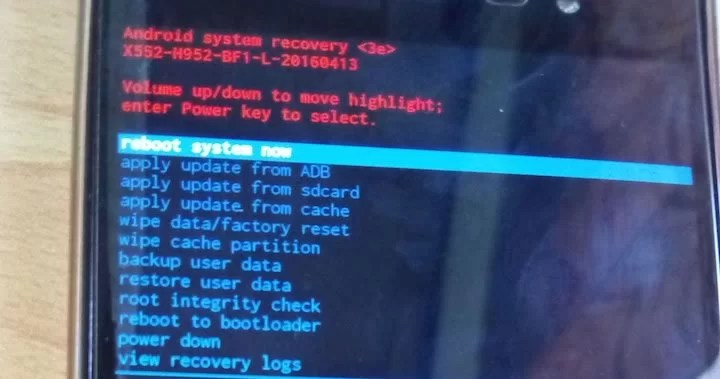 Android System Recovery 3e Usage Guide