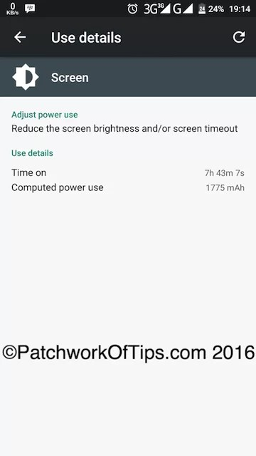 Oukitel K6000 Pro Battery Life Test - 3G Only 2