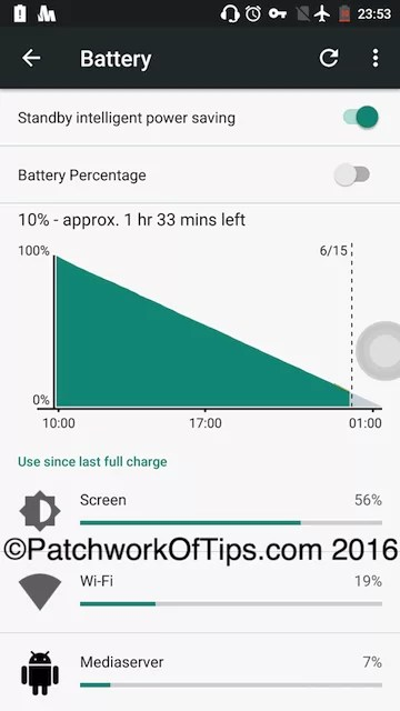 Oukitel K6000 Pro Video Playback Battery Life Test 2