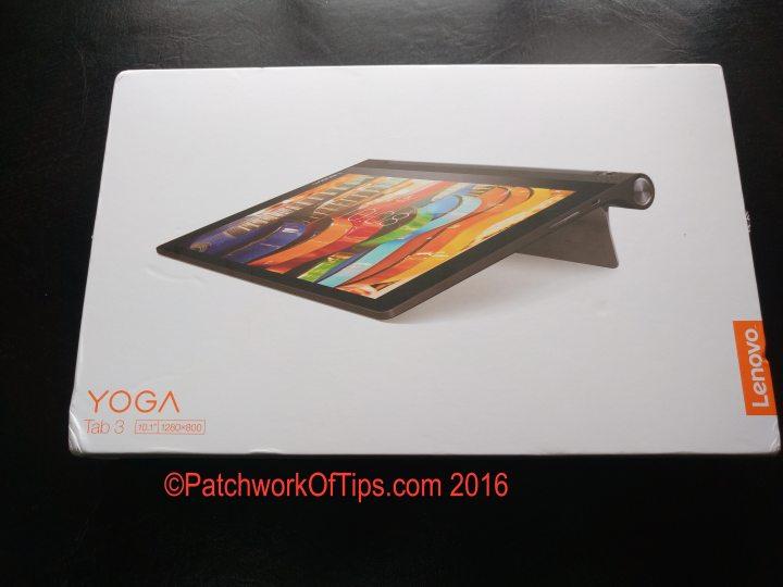 Lenovo Yoga Tab 3 10 Boxed