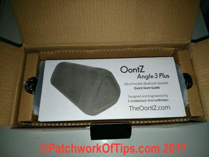 Oontz Angle 3 Plus Unboxed