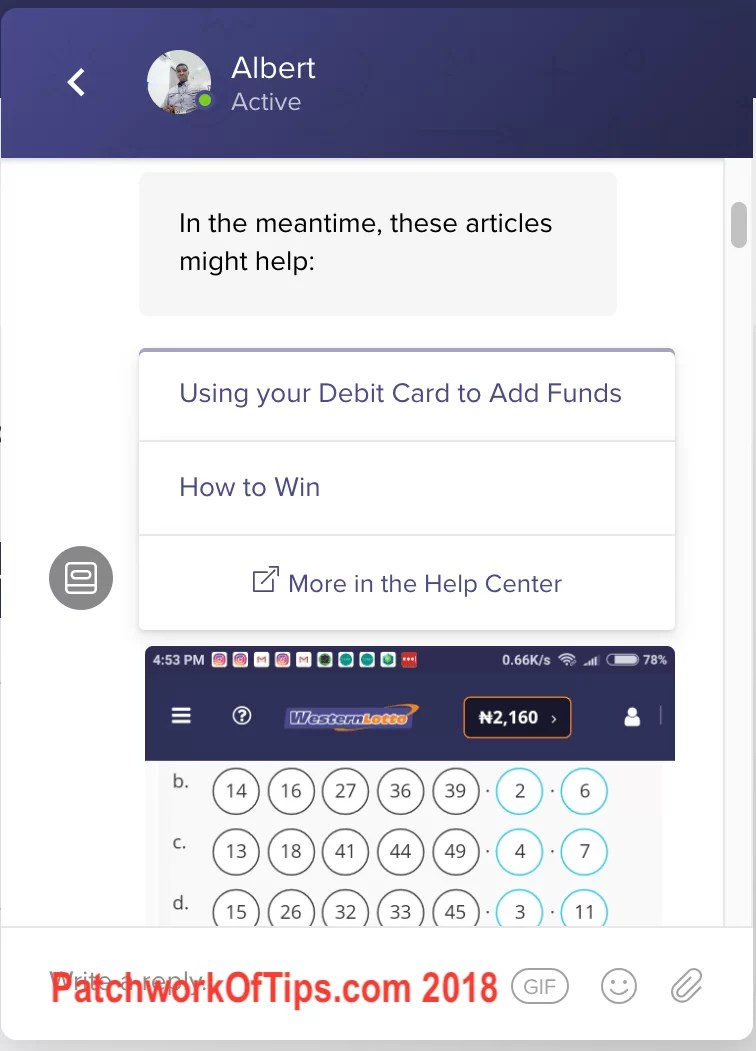 Western Lotto Winnings 2