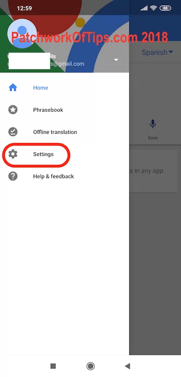 Google Translate Offline Translation Download Settings 1