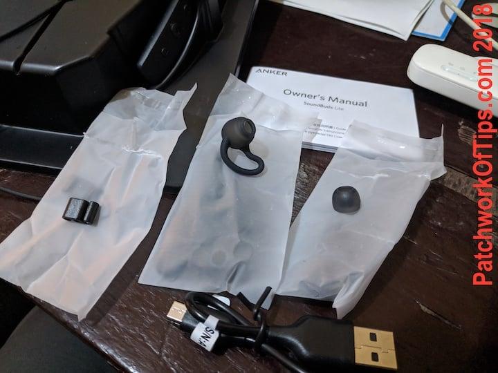 Anker SoundBuds Lite Accesories