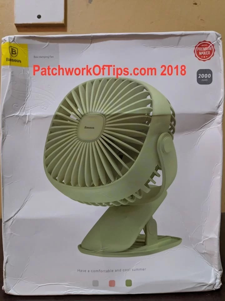 BaseUS ZW-2816 Desktop USB Fan