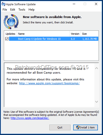 How To Install Boot Camp 6 For Windows 10 On Mac OS X - Tech