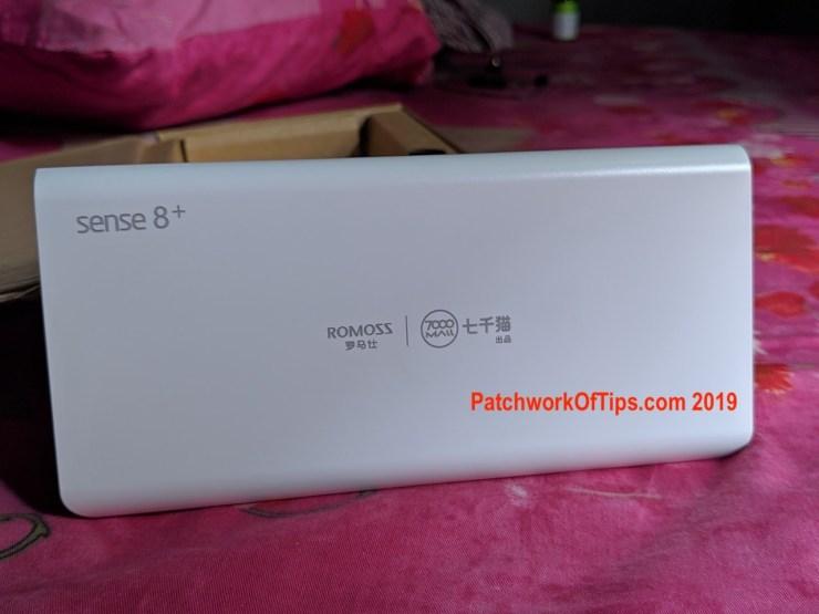 Romoss Sense 8+ PHP30Pro 9