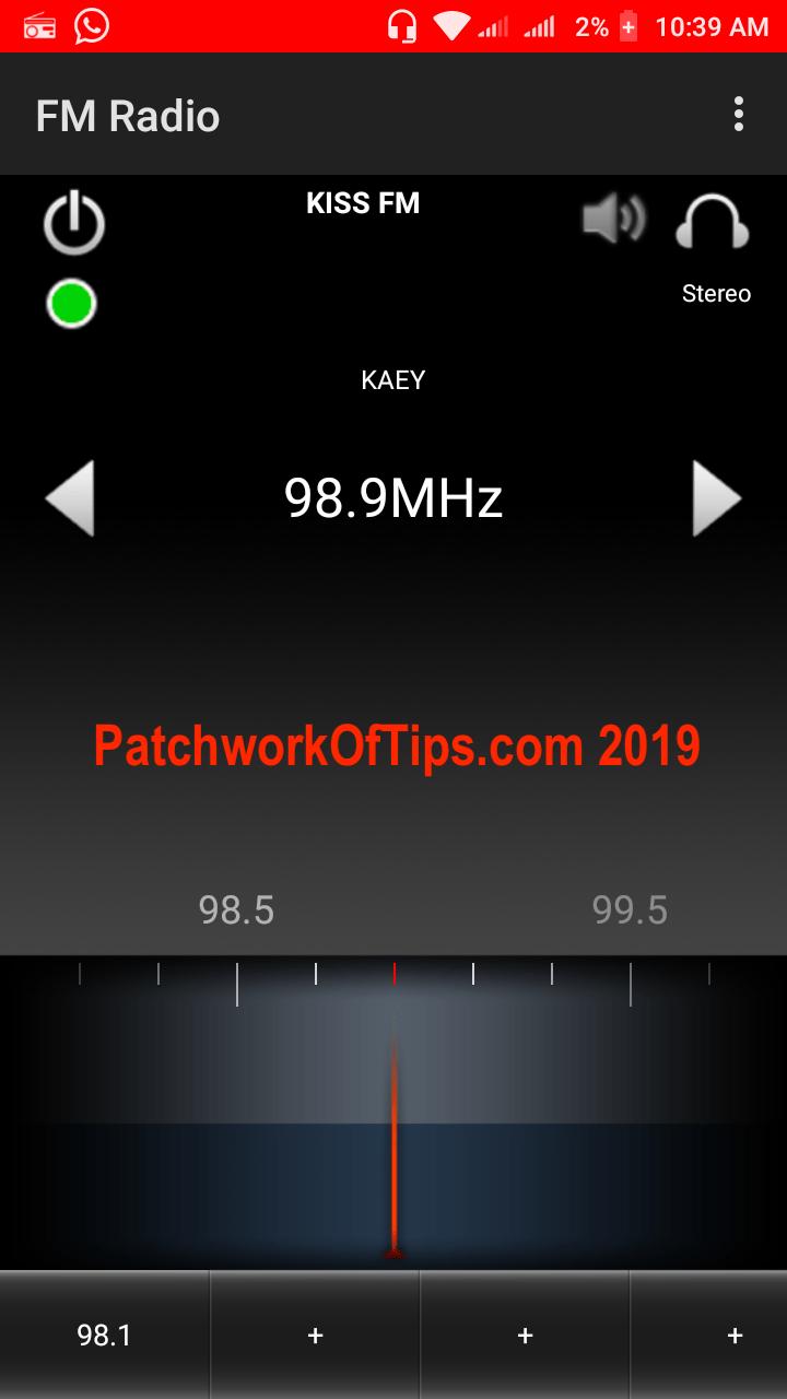 Xiaomi Redmi Go Screenshots FM Radio