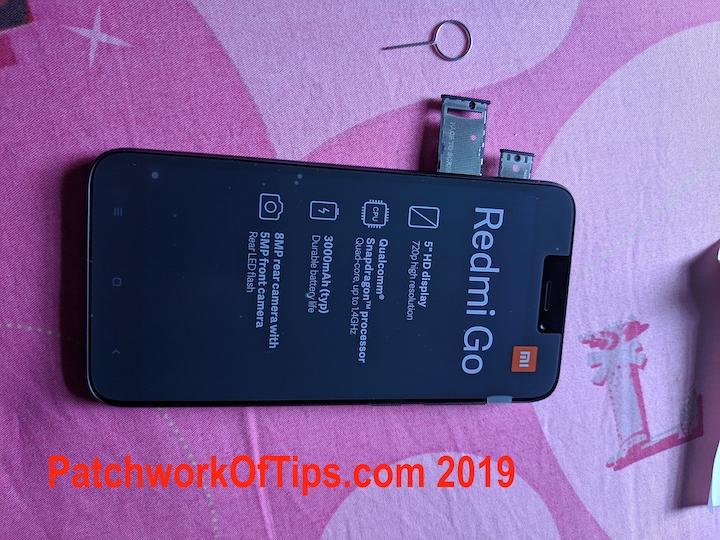 Xiaomi Redmi Go Unboxed 3
