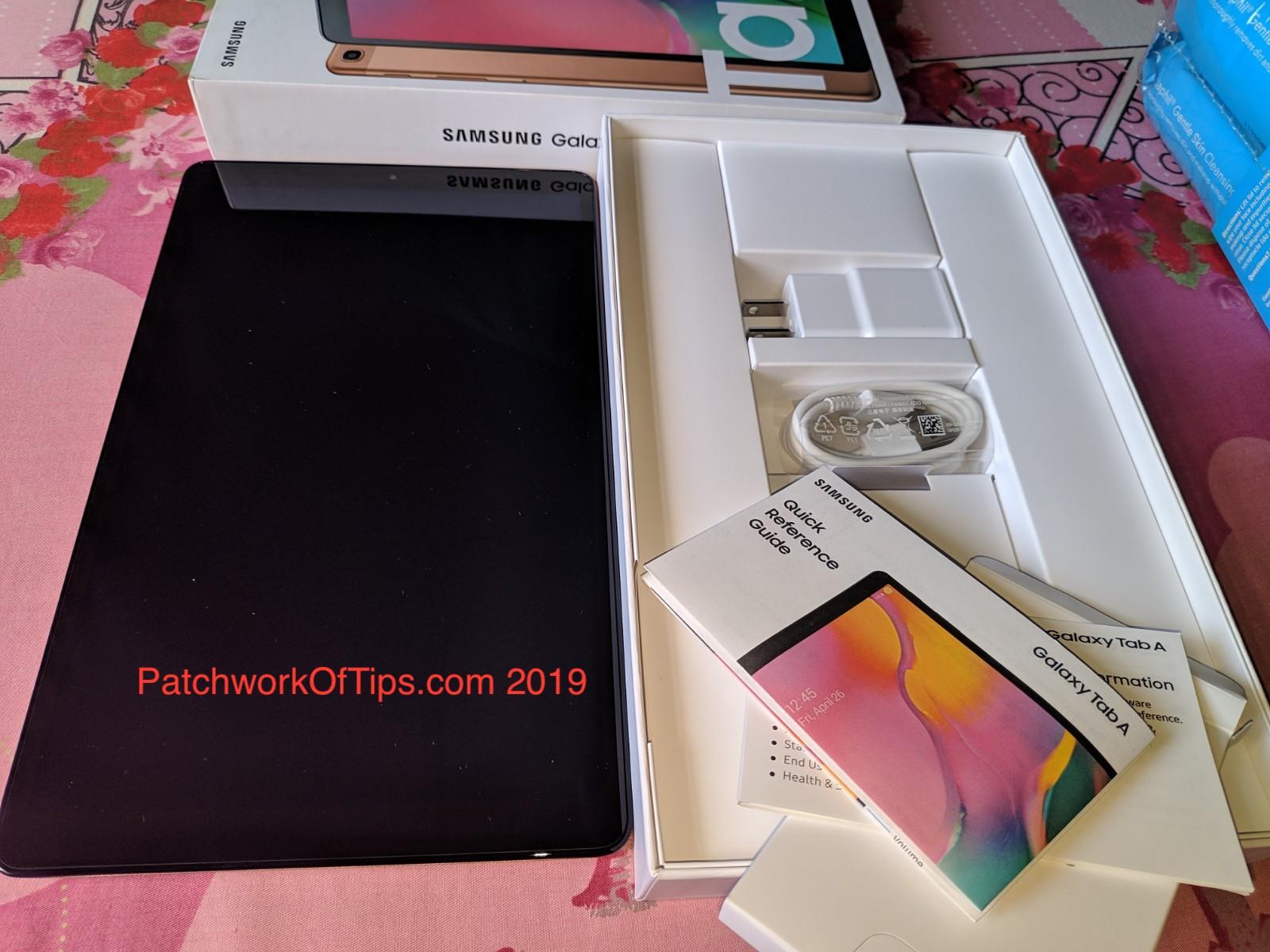 Samsung Galaxy Tab A 10.1 21019 Unboxed