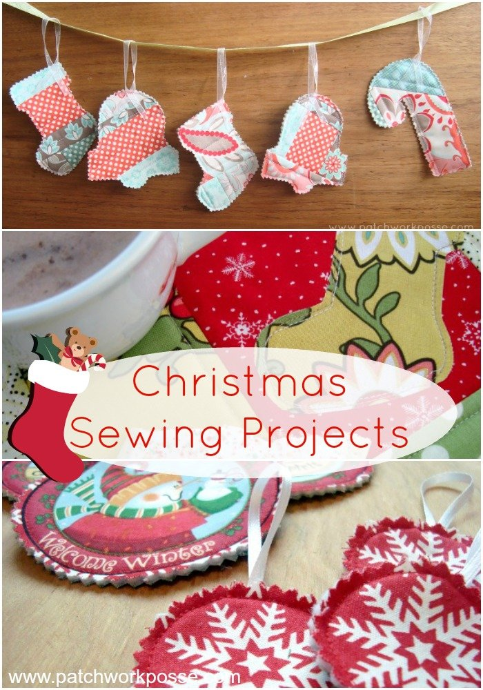 Quick Christmas Gifts Sew