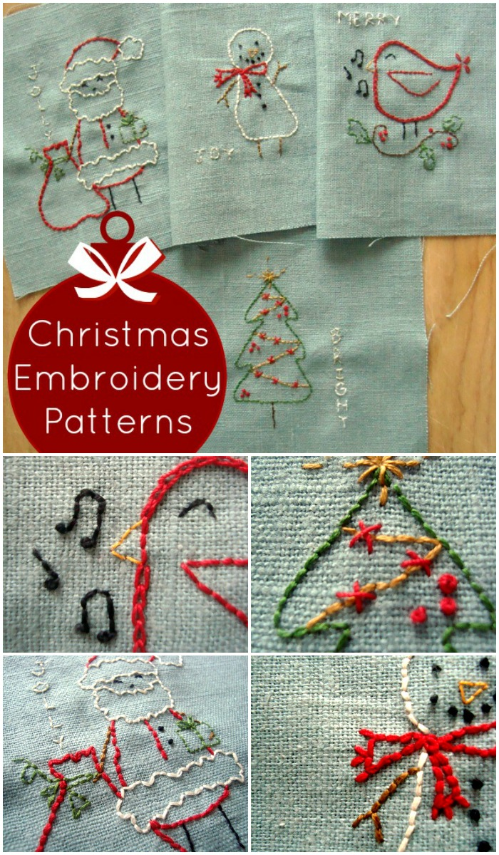 Embroidery Beginner Printable Patterns Free