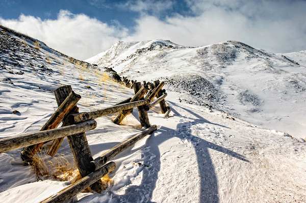 The Continental Divide, Loveland Pass, Colorado USA