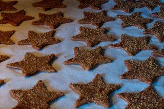 Etoiles de Noël au sucre