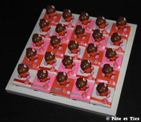 Boîtes à dragées petites filles et coccinelles