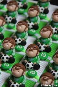Boîtes à dragées footballeurs ASSE Saint-Etienne