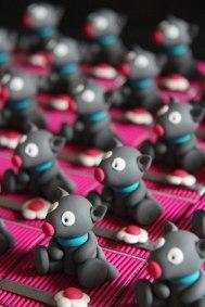 Boîtes à dragées peluches doudous souris