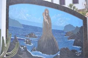 Mural de La Virgen del Socorro