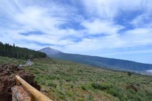 Vistas del Teide desde el Mirador