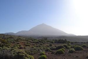 Montaña Blanca, El Teide y Pico Cabras