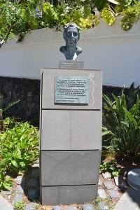 Busto de Agatha Christie
