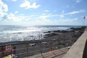 Acceso a al Playa del Arenisco
