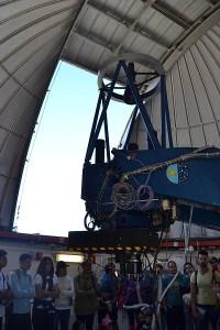 Interior del Telescopio Nocturno IAC-ESPAÑA
