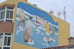 Mural en Gran Tarajal