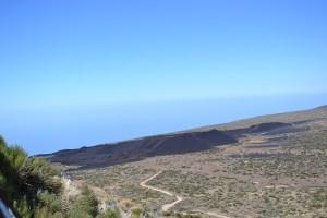 Vistas del Volcán de Fasnia