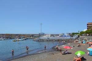 Playa San Juan en Guía de Isora, Tenerife
