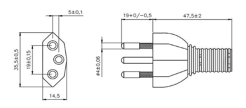 701 Swiss Plug 2 pole + E STRAIGHT – PATELEC Group