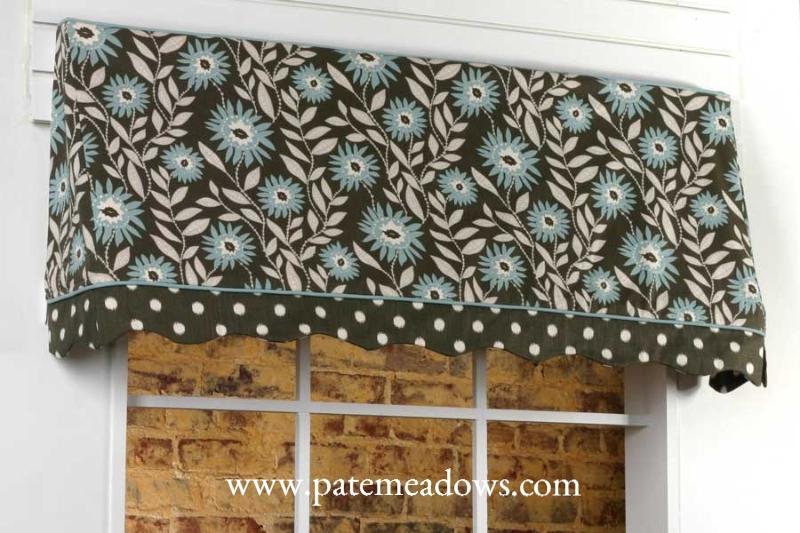 sewing pattern valance