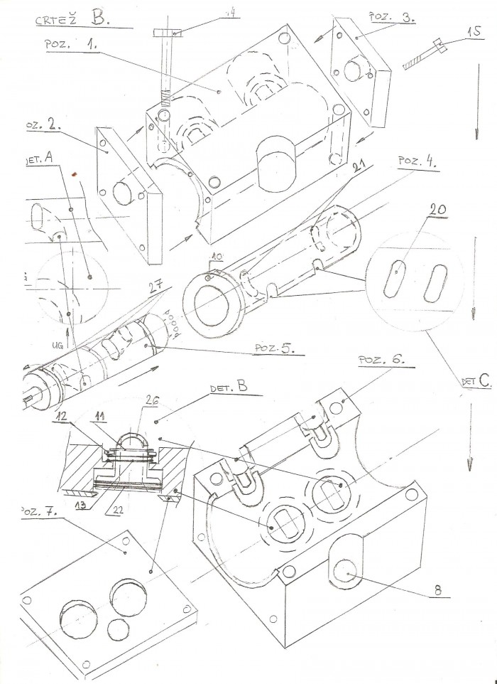 Buy the patent: new principle of cylinder head for 4