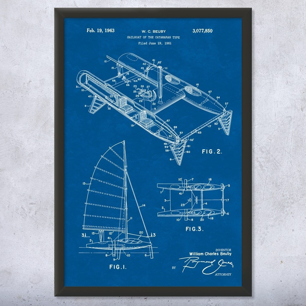 hight resolution of boat captain boating gift sailboat blueprint ocean racing yacht club nautical gift sailor gift sailing boat luxury boat vintage sailing patent art