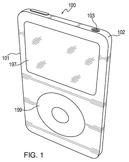 Patent Brief: Apple Thinks Unibody iPod Classic & Beyond
