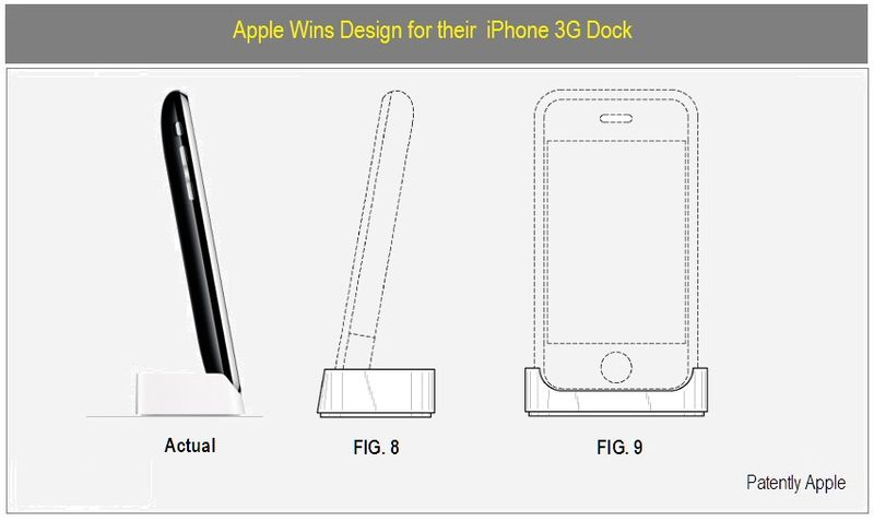 Apple Wins Designs for Aluminum iMac, iPhone 3G Dock, iPod
