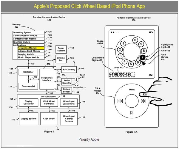 Apple Wins Patents for iPod Classic Retro Phone, IM Chat
