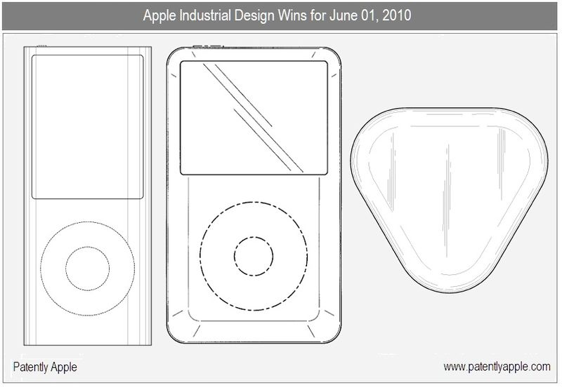 Apple Wins Designs for iPod nano/Classic, MacBook Air