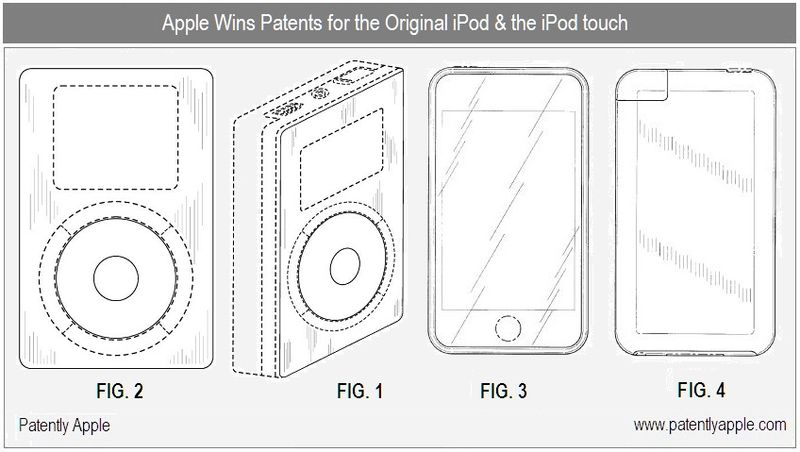 Apple Wins Major Touch Technology Patent along with