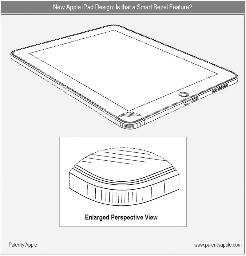 New Apple iPad Designs Surface with Landscape Docking