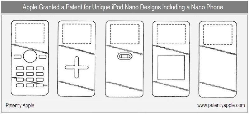 Apple Wins Patents for 8 All-New iPod Designs Including a