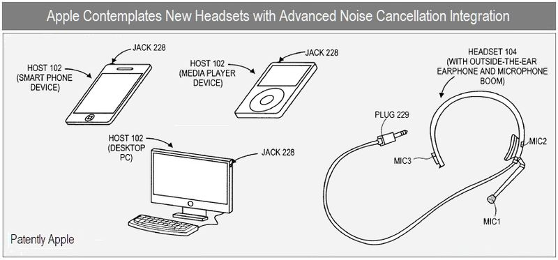 Apple Engineers New Advanced Noise Cancellation Headsets